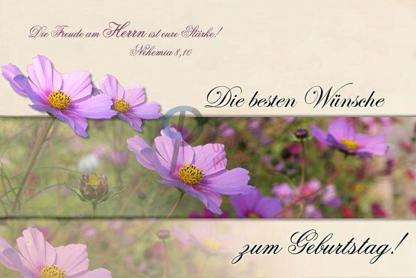 123-Geburtstagskarte Set (Nehemia 8:10)