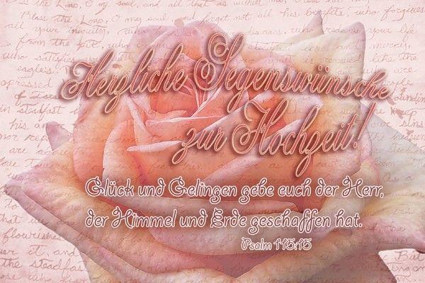 116-Hochzeitskarten im Set (Psalm 115:15)