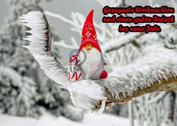 201- Weihnachtskarte Wichtel