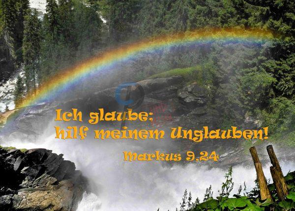 693 - Jahreslosung 2020 - Regenbogen