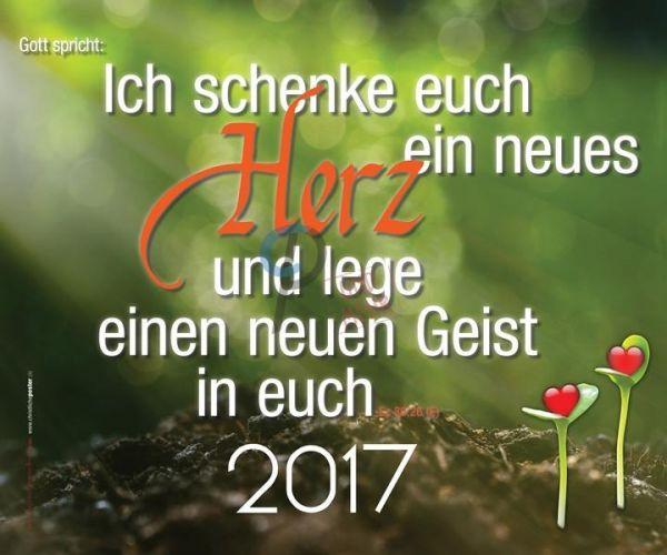 317-Jahreslosung 2017 - Herzkeimlinge (Querformat/Hochformat)
