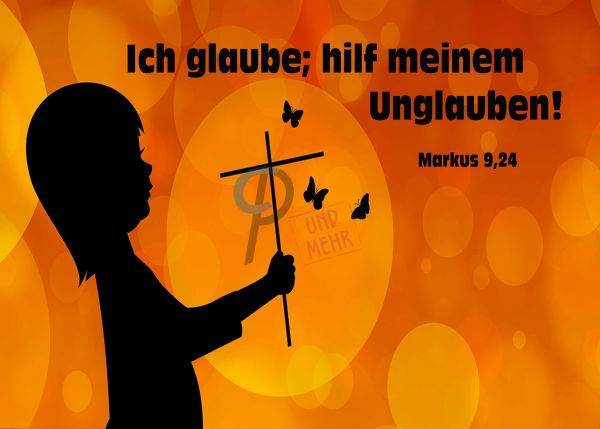 739 - Jahreslosung 2020 - Kind mit Kreuz