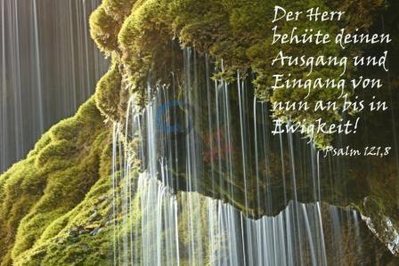 774 - Psalm 121,8 Wasserfall
