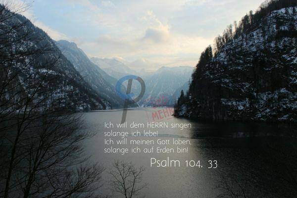 688 - Psalm 104,33