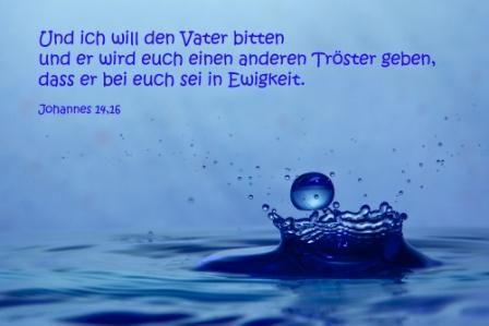 782 Und ich will den Vater bitten...Johannes 14.16