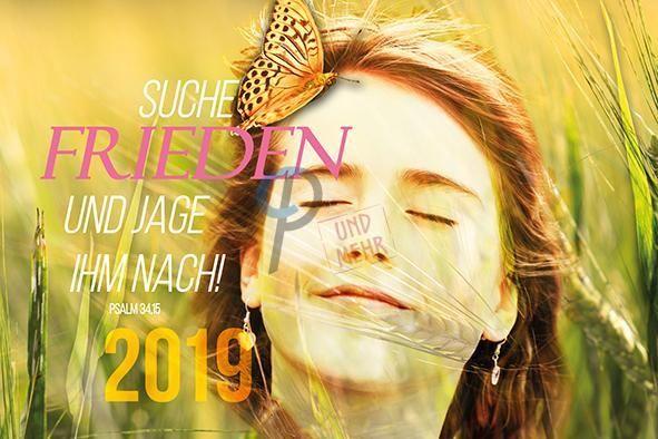 594 Jahreslosung 2019 gelb 2