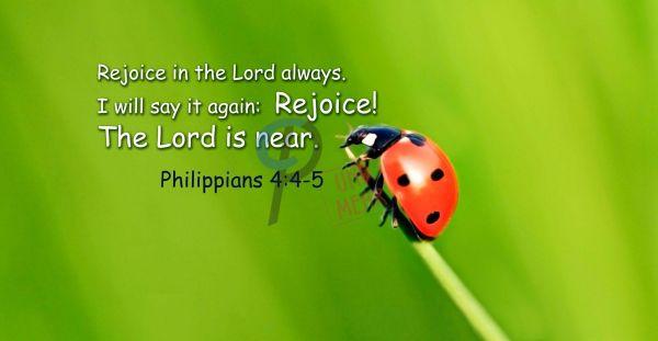 149-Philippians 4:4-5