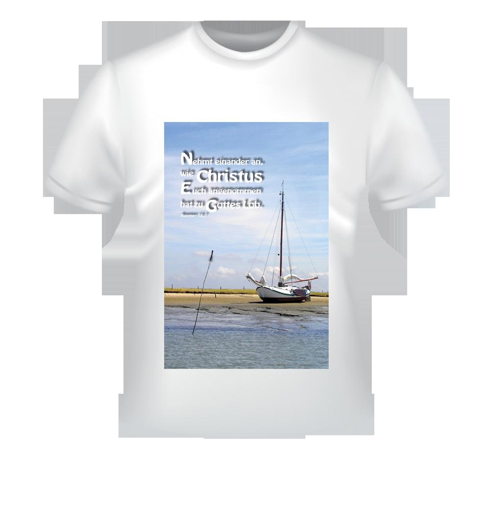 T-Shirt mit christlichem Motiv
