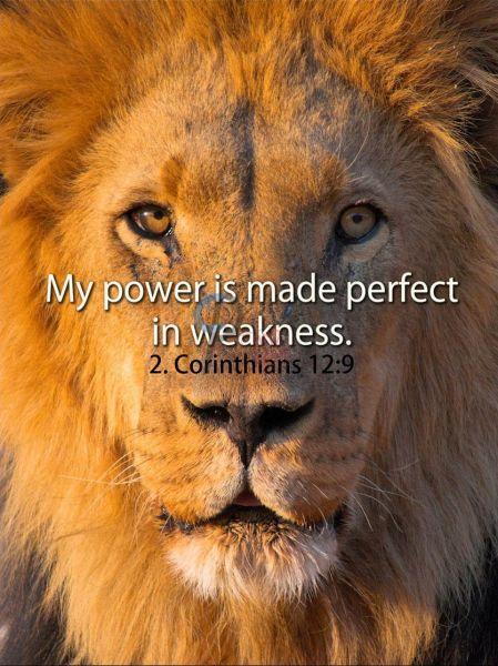 68-2. Corinthians 12:9