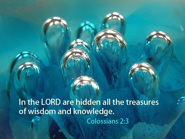 152.1 Colossians 2:3