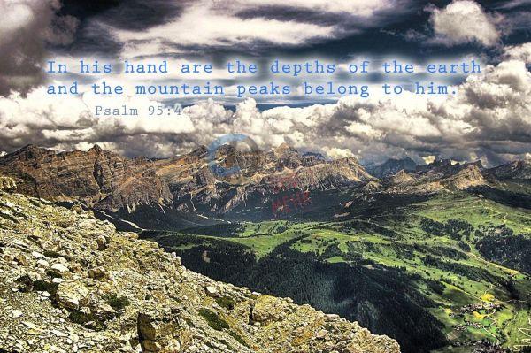 78-Psalm 95:4