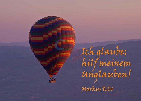 695 - Jahreslosung 2020 - Heißluftballon