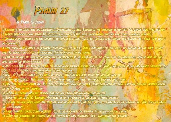 133-Psalm 27