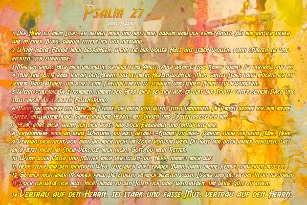 132-Psalm 27